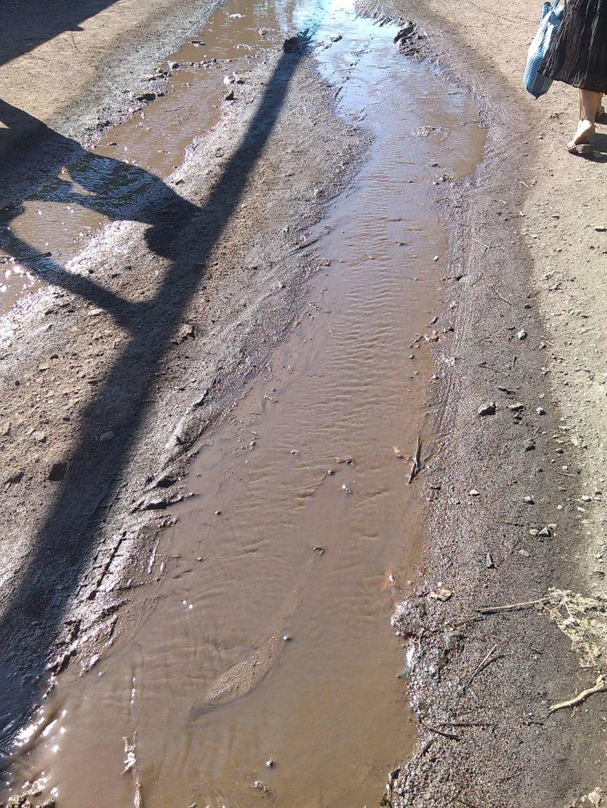 После наполнения водоводов продолжают заполняться водой и улицы Димитрова (фото) - фото 3
