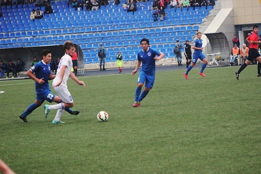 Футболисты «Востока» обыграли шымкентский «Кыран»