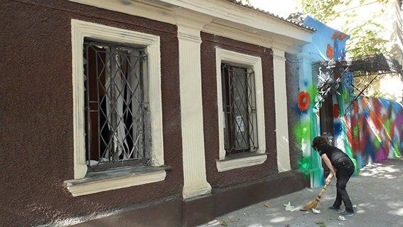 В николаевском центре волонтеров сработала самодельная взрывчатка (ФОТО) (фото) - фото 1