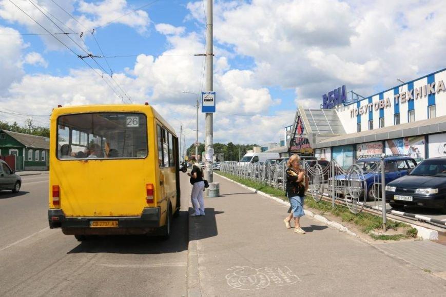 На черниговских остановках появляются новые «ожидалки». Но есть и проблемные места, фото-1