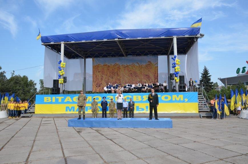 В Мариуполе празднуют День государственного флага (ФОТОРЕПОРТАЖ+ВИДЕО), фото-47