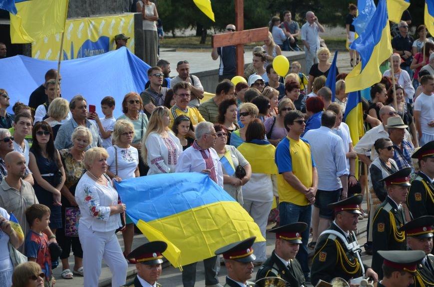 В Мариуполе празднуют День государственного флага (ФОТОРЕПОРТАЖ+ВИДЕО), фото-27