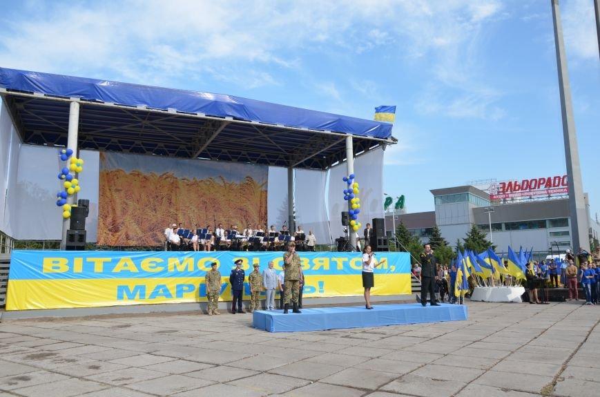 В Мариуполе празднуют День государственного флага (ФОТОРЕПОРТАЖ+ВИДЕО), фото-42