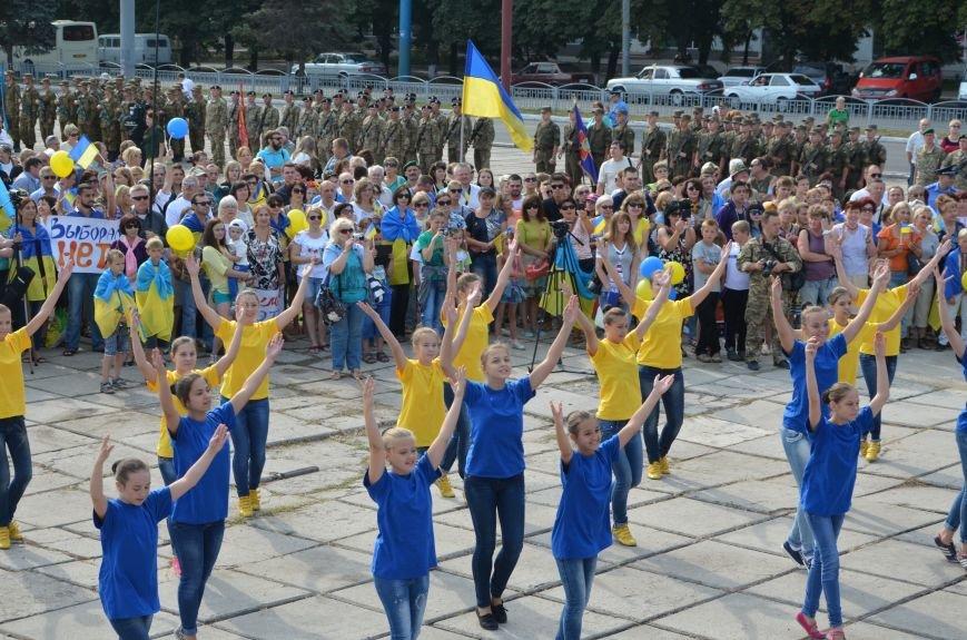 В Мариуполе празднуют День государственного флага (ФОТОРЕПОРТАЖ+ВИДЕО), фото-22