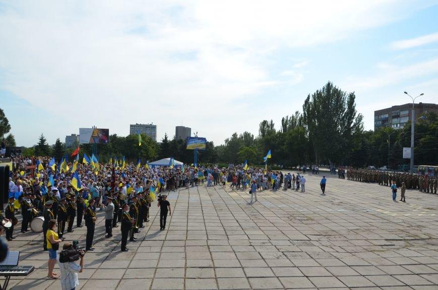 В Мариуполе празднуют День государственного флага (ФОТОРЕПОРТАЖ+ВИДЕО), фото-3