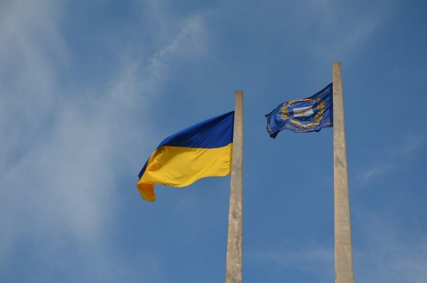 В Мариуполе празднуют День государственного флага (ФОТОРЕПОРТАЖ+ВИДЕО), фото-37