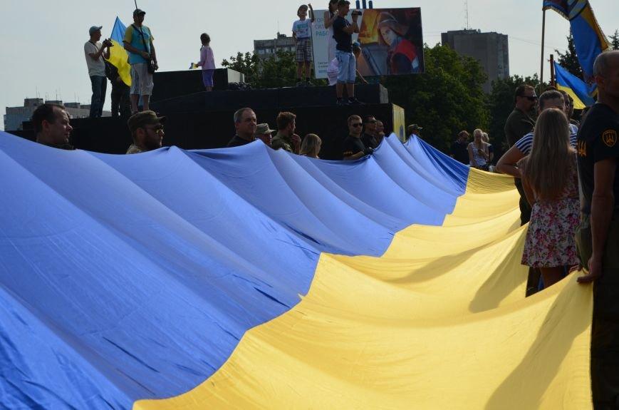 В Мариуполе празднуют День государственного флага (ФОТОРЕПОРТАЖ+ВИДЕО), фото-33