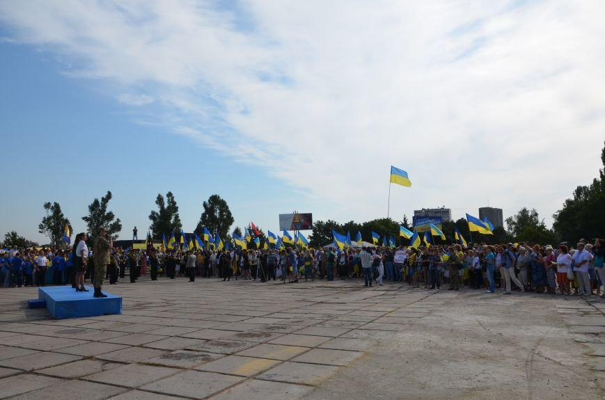 В Мариуполе празднуют День государственного флага (ФОТОРЕПОРТАЖ+ВИДЕО), фото-41