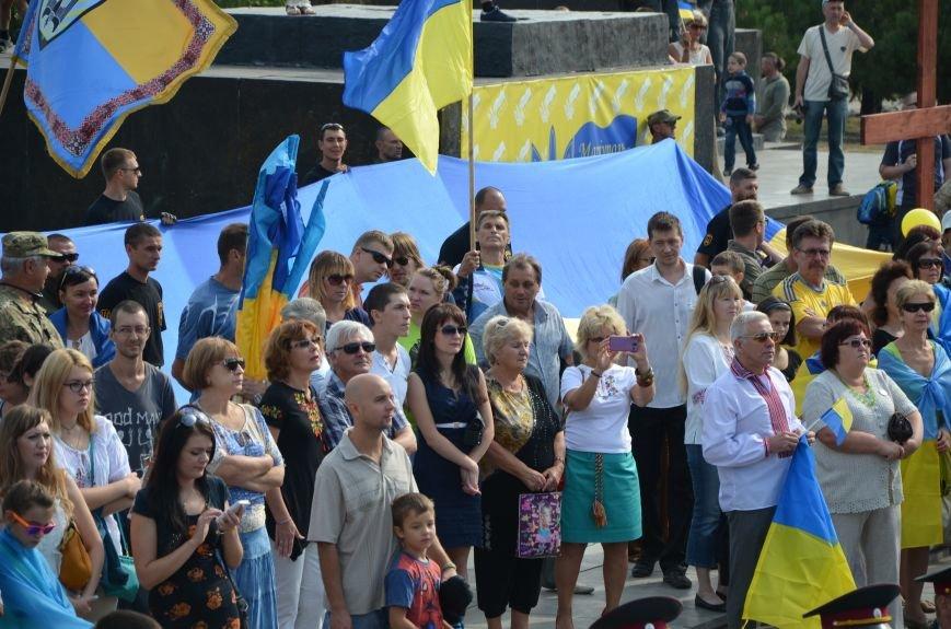 В Мариуполе празднуют День государственного флага (ФОТОРЕПОРТАЖ+ВИДЕО), фото-25
