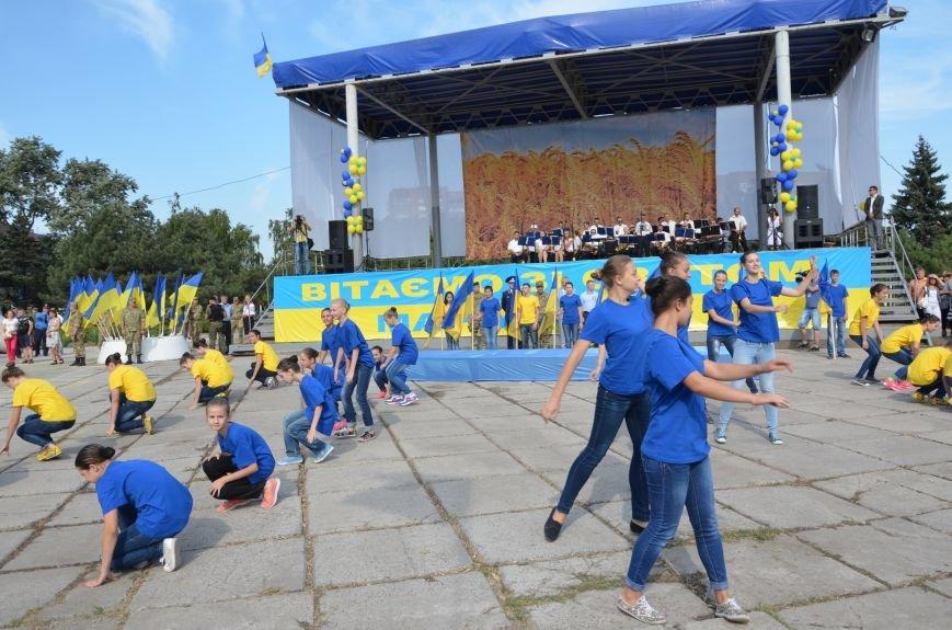 В Мариуполе празднуют День государственного флага (ФОТОРЕПОРТАЖ+ВИДЕО), фото-50