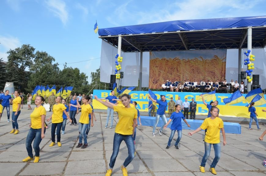 В Мариуполе празднуют День государственного флага (ФОТОРЕПОРТАЖ+ВИДЕО), фото-49