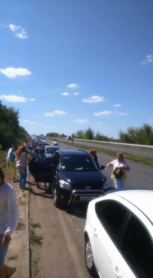 В Краматорске состоялся автопробег честь Дня независимости, фото-4