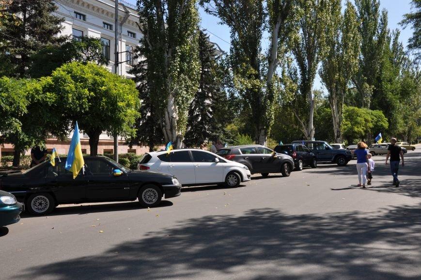 В Краматорске состоялся автопробег честь Дня независимости, фото-2