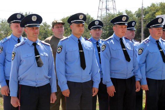В Мариуполе ко Дню флага наградили милиционеров (ФОТО), фото-1