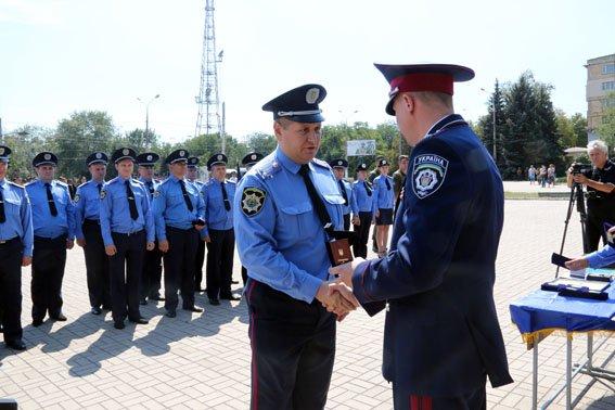 В Мариуполе ко Дню флага наградили милиционеров (ФОТО), фото-4