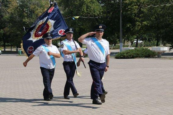 В Мариуполе ко Дню флага наградили милиционеров (ФОТО), фото-2