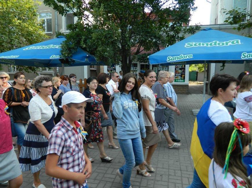 Бердянцы отметили День Государственного флага (фото) - фото 4