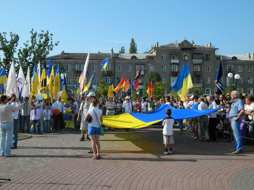 Бердянцы отметили День Государственного флага (фото) - фото 11