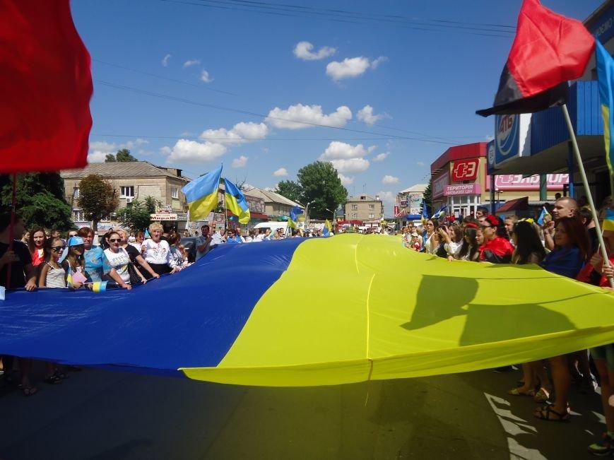 День Независимости Украины в Красноармейске - яркий «Марш Патриотов» стартовал (фото) - фото 5
