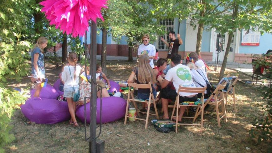 Арт-пикник «Моя хата не з краю» состоялся в Бердянске (фото) - фото 1