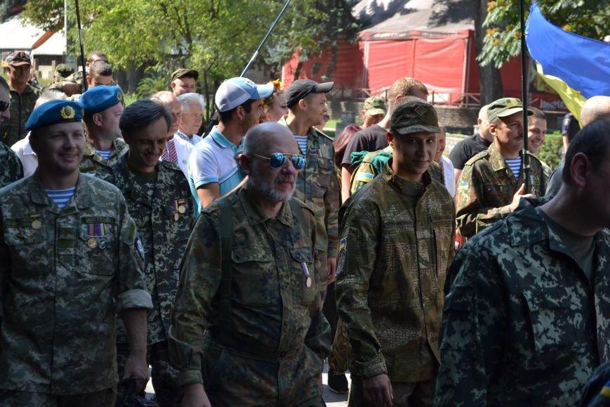 Патриотическим маршем отметили в Днепродзержинске День Независимости Украины, фото-6