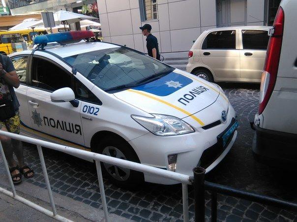 Перший день на роботі: патрульна поліція Львова потрапила в ДТП (ФОТО), фото-1