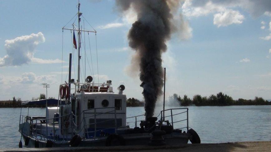 Фотоотчет с пожара на барже (фото) - фото 8