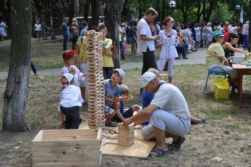 В Краматорске открыли памятник казаку Мамаю, фото-10