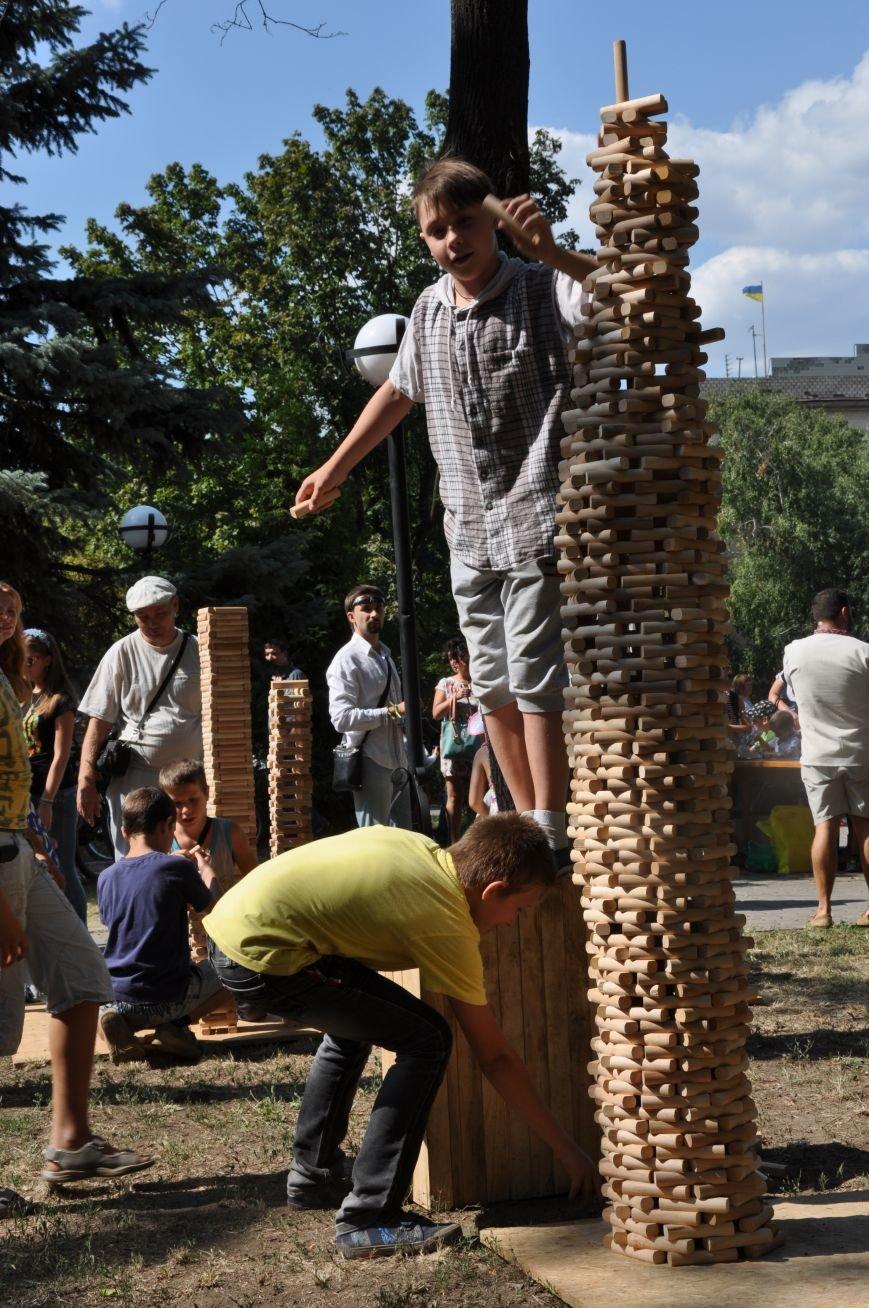 В Краматорске открыли памятник казаку Мамаю, фото-13
