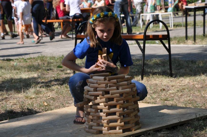 В Краматорске открыли памятник казаку Мамаю, фото-14