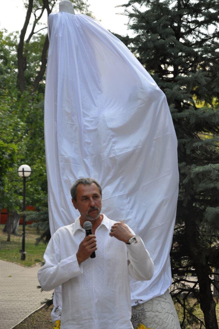 В Краматорске открыли памятник казаку Мамаю, фото-1