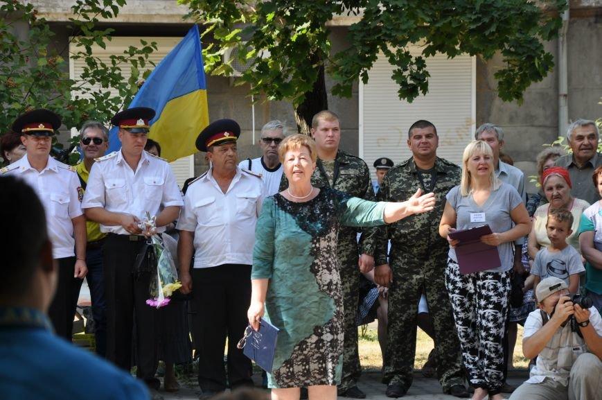 В Краматорске открыли памятник казаку Мамаю, фото-8