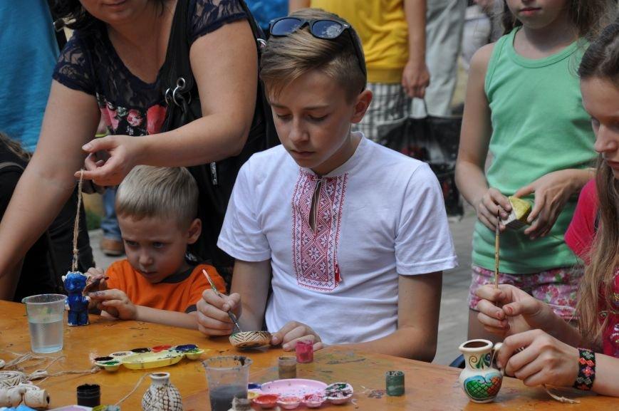 В Краматорске открыли памятник казаку Мамаю, фото-11