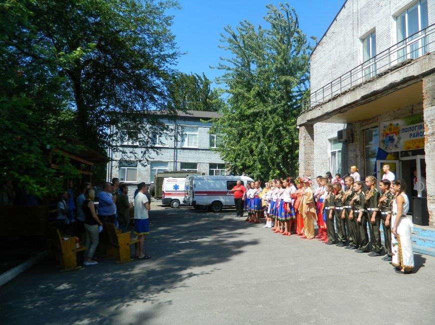 Как отмечали День Независимости в запорожском военном госпитале (ФОТО, ВИДЕО) (фото) - фото 4