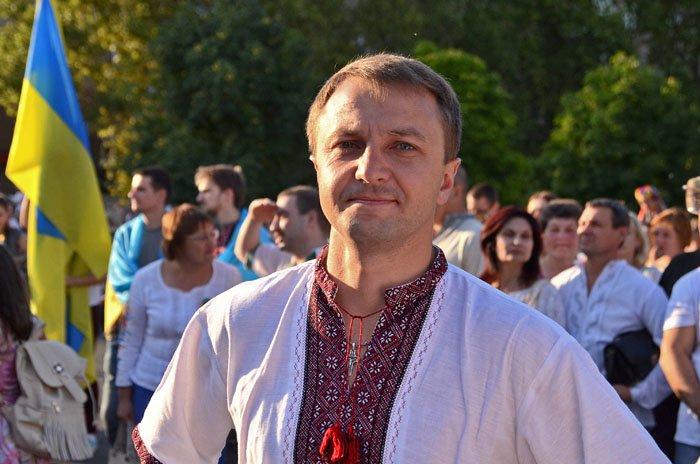 Николаевцы отметили День Независимости в вышиванках и с флагами (ФОТОРЕПОРТАЖ), фото-8
