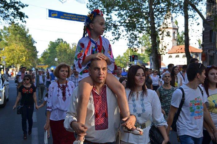 Николаевцы отметили День Независимости в вышиванках и с флагами (ФОТОРЕПОРТАЖ), фото-5