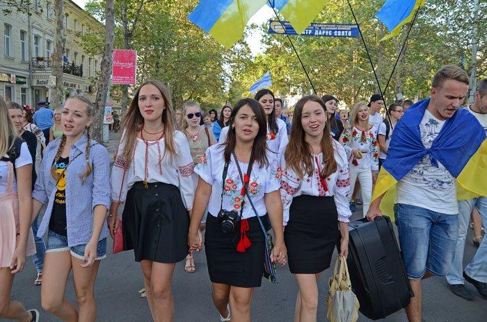 Николаевцы отметили День Независимости в вышиванках и с флагами (ФОТОРЕПОРТАЖ), фото-3