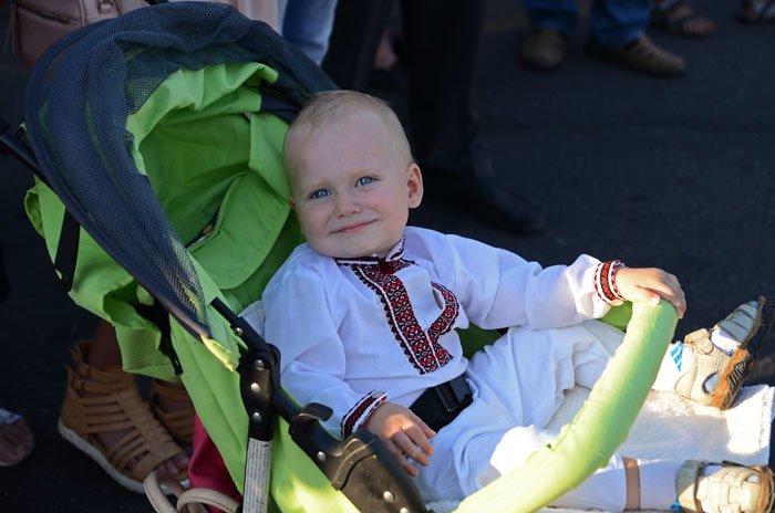 Николаевцы отметили День Независимости в вышиванках и с флагами (ФОТОРЕПОРТАЖ), фото-17
