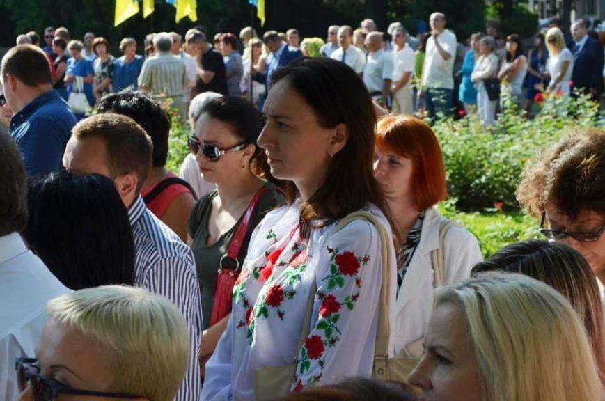 Николаевщина минутой молчания почтила память о погибших воинах (ФОТО), фото-5