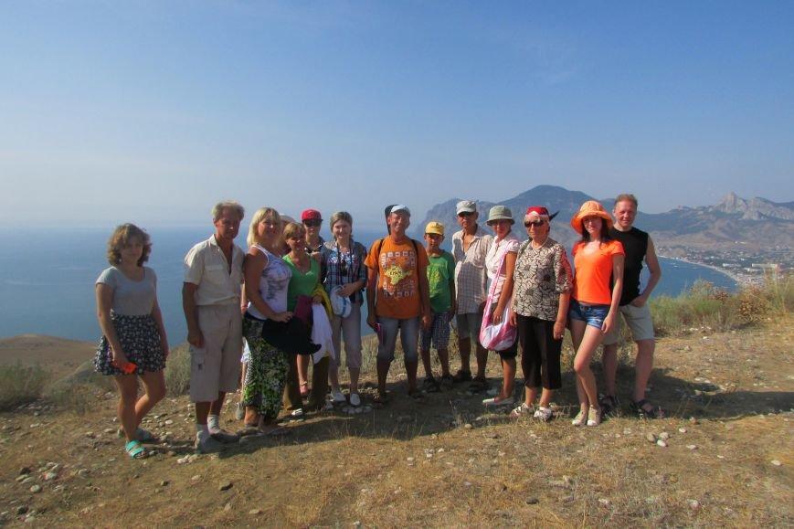Участники восхождения на гору Кучук-Енишары