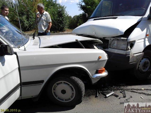 По вулиці Винниченка у Чернівцях сталася аварія, фото-1