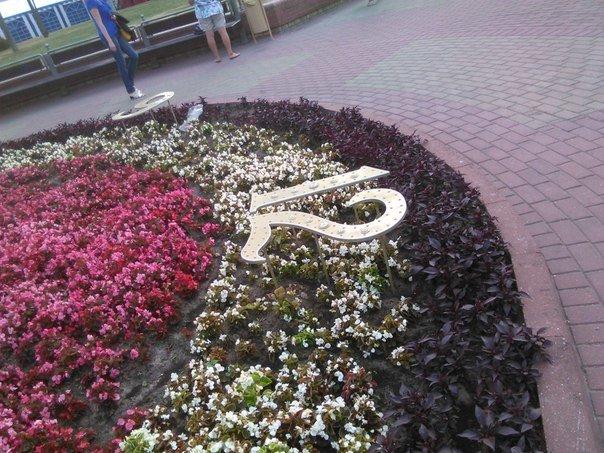 Фотофакт: солнечные часы на Советской площади оснастили циферблатом (фото) - фото 2