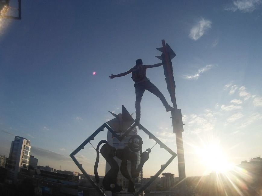 Экстремалы покоряют Днепропетровские вершины: куда на этот раз? (фото) - фото 3