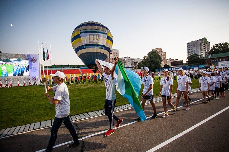 Школьники из 75 городов России открыли фестиваль ГТО в Белгороде, фото-2