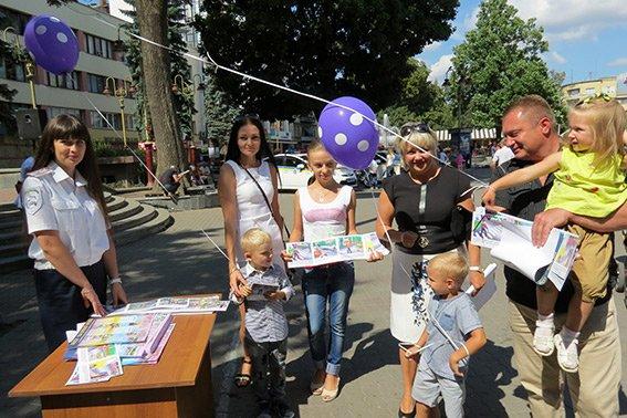 В Івано-Франківську провели «День з ДАІ» (ФОТО) (фото) - фото 1