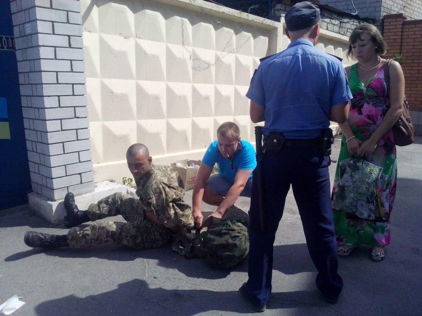 В Запорожье задержали военного на краже сумочки (ФОТО) (фото) - фото 2