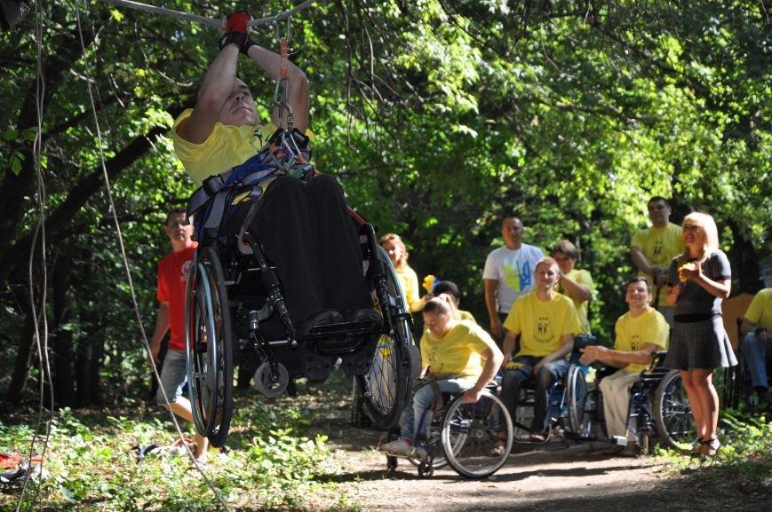Инвалиды в Краматорске занимались альпинизмом (ФОТО, ВИДЕО), фото-7