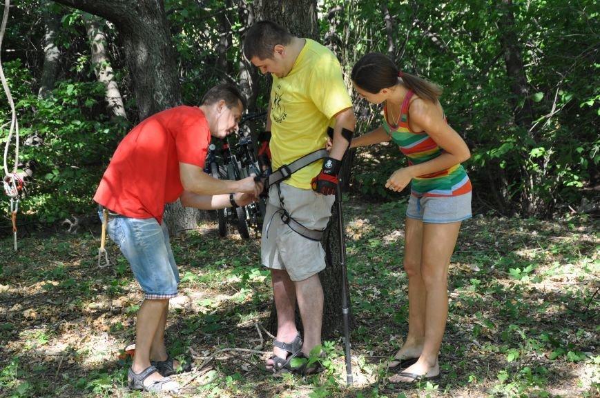 Инвалиды в Краматорске занимались альпинизмом (ФОТО, ВИДЕО), фото-5