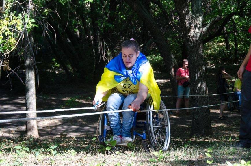 Инвалиды в Краматорске занимались альпинизмом (ФОТО, ВИДЕО), фото-12