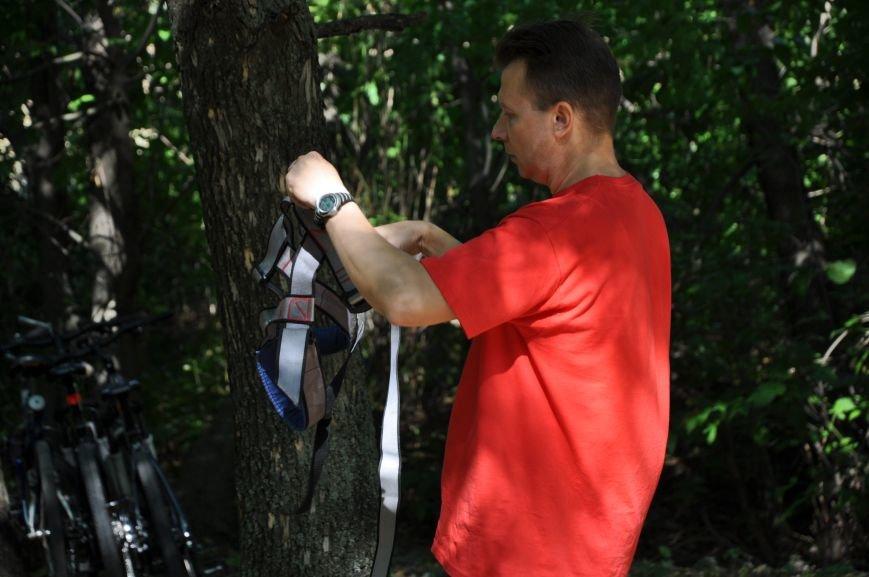 Инвалиды в Краматорске занимались альпинизмом (ФОТО, ВИДЕО), фото-1